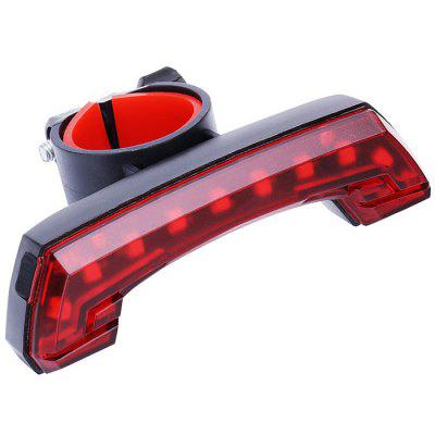 Bicycle USB Charging Tail Light Mountain Bike Riding LED Equipment