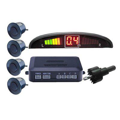 LED Display Buzzer Voice Car Reversing Radar Parking Sensor