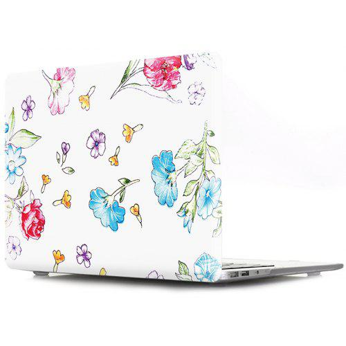 76d0c2eacc Puzdro na notebook pre MacBook No Touch 13.3 Cartoon Flower ...