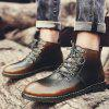 Men Casual Boots - BROWN