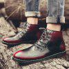 Men Casual Boots - ROTER WEIN