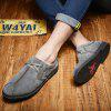 Casual Good Look Simple Oxford Shoes - GRAY