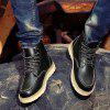 Autumn And Winter Men Boots - BLACK