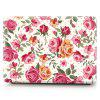 Laptop Case for MacBook No Touch 13.3 Hand Painted Roses - CERDO ROSA