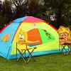 Tent Play House Oversized House Dream Account Puzzle Children Toy Cartoon Children Tent - MULTI COLORI-A
