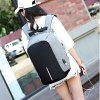 Couple Backpack USB Charging Waterproof Outdoor Anti-theft Travel - PRETO