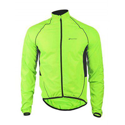NUCKILY MJ004 Bicycle Clothing Long - sleeved Windbreaker Jersey Mountain Bike Raincoat For Men And Women