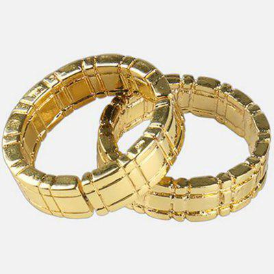 Magic Tricks Linking Ring Close Up Street Gimmick Props Comedy