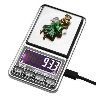 Portable USB Powered Electronic Scale for Gold Jewelry 1000G 0.1G/500G 0.01G