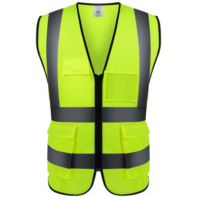 Construction Site Night Light Reflective Traffic Safety Protective Clothing