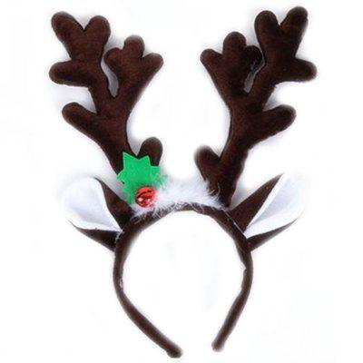 Christmas Big Antler Ear Tiara Headband