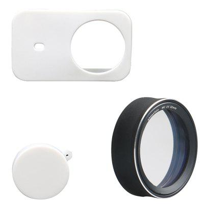 MCUV Multilayer Coating Protector And Camera Silicone Case Suitable For Xiaomi Mijia Small Camera Lens