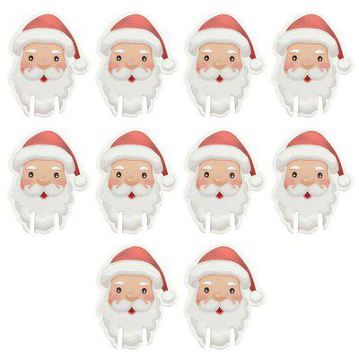 10PCS Christmas Decorations for Home Table Place Cards New Year Party Supplies