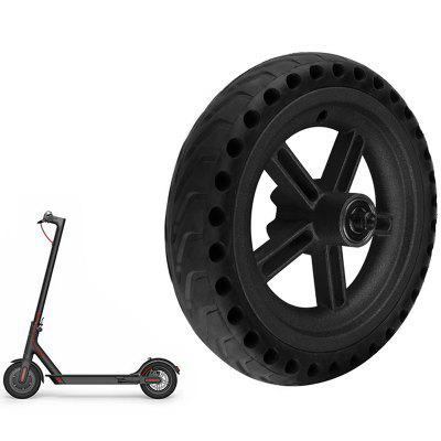 Ensemble de Roue + Pneu Anti-Déflagrant Adapté au Scooter Xiaomi M365
