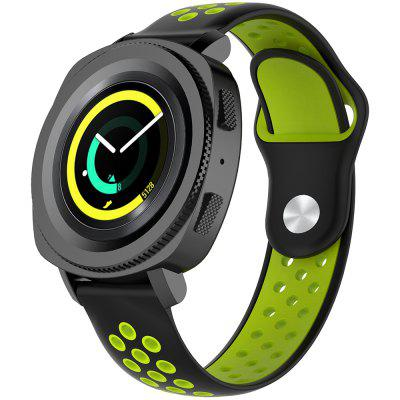 A1608 20MM Width Two-color Strap for AMAZFIT Youth Version BIP
