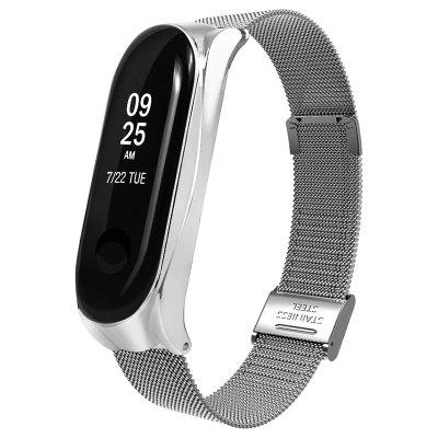 Fashion Metal Mesh Watch Strap for Xiaomi Mi Band 3