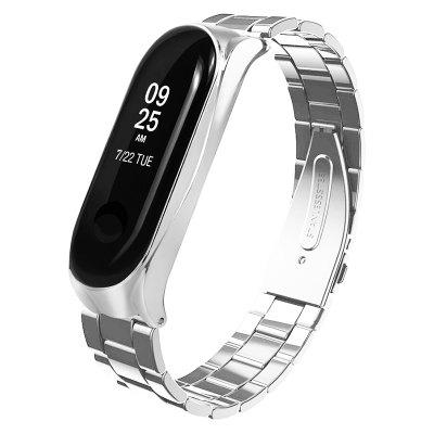 Stainless Steel Replacement Watch Strap for Xiaomi Mi Band 3