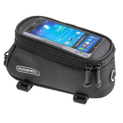 GPS Bag Touch Screen Mobile Phone Bag for ROSWHEEL Le Xuan 12496 Five Generation 5C Bicycle