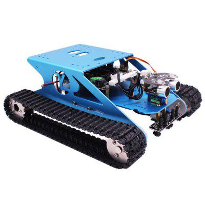 Yahboom Stem Education Smart Tank Mobile Platform Chassis Robot Kit for Arduino Electronic Project Learning