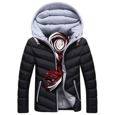 Men's Cotton  Padded Down Jacket
