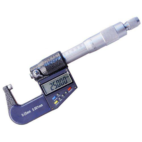 Electronic Digital Micrometer Measuring Range,Digital Display /& Scale Dual Use 25-50mm