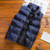 Men's Autumn Winter Trend Casual Thick Warm Vest Jacket - VERT ARMéE