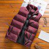 Men's Autumn Winter Trend Casual Thick Warm Vest Jacket - RED