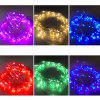 10M 100LED 3AA Battery Box Copper Wire String Light Christmas Decoration - SEA BLUE