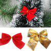 12PCS Pretty Bow Ornament Christmas Tree New Year Decoration Festival Party Home Bowknots Baubles - ORO