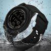 3152626 Male Waterproof Electronic Student Outdoor Sports Special Forces Multi-function Watch - BLACK