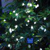 Christmas Decorations Solar Snowflake Bubble Ball Light String 30LED Holiday Outdoor Decorative Lights - BRANCO
