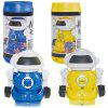 Mini Robot Toy For Children Remote Control Dance Mechanical Educational Boy's Girl's Toy - BLUE