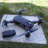 1080P 5G Wifi Drone Quadcopter Remote Control Aircraft Toy - BLACK