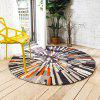 Nordic Fashion Trend Retro Abstract Round Carpet Living Room Bedroom Desk Computer Chair Cushion Carpet - MULTI-A