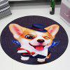 3D Cartoon Cute Pet Cute Anime Mat Cloakroom Photo Round Children Carpet Living Room Bedroom Swivel Chair Hanging Basket 80cm - MULTI-A