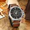 8278 Men's Watch Multi-function Fashion Casual Large Dial Quartz - CAFé