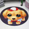 3D Cartoon Cute Pet Cute Anime Mat Cloakroom Photo Round Children Carpet Living Room Bedroom Swivel Chair Hanging Basket 120cm - MULTI-C