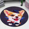 3D Cartoon Cute Pet Cute Anime Mat Cloakroom Photo Round Children Carpet Living Room Bedroom Swivel Chair Hanging Basket 160cm - MULTI-B