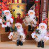 Christmas Decoration Pendant Christmas Simulation Old Man Figurine Decoration Gift - MULTICOLOR-D