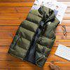 Men's Autumn Winter Trend Casual Thick Warm Vest Jacket - ARMY GREEN