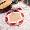 10PCS Christmas Decorations for Home Table Place Cards New Year Party Supplies - WHITE