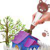 gocomma S7 Smart Voice Version 3D Printing Pen - BROWN