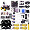 Yahboom Ultimate Starter Kit for Raspberry Pi 3 B+ HD Camera Programmable STEM Education Toy - BLACK
