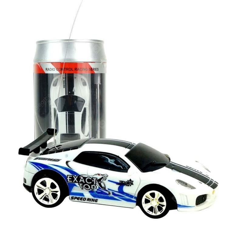 2010b 1/58 Mini Ring-pull Can RC Car Toy
