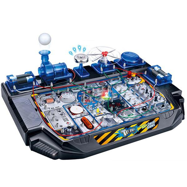 DIY Science Technology Electric Toy Set Scientific Experiment - BLUEBERRY BLUE