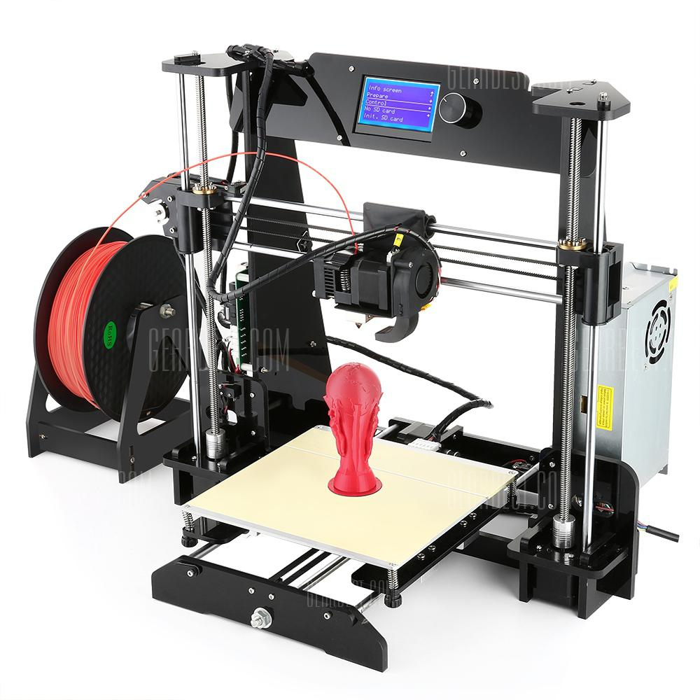 Alfawise EX8 3D Printer - BLACK EU PLUG
