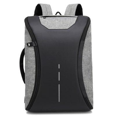 3a93ab15ae Xiaomi Trendy Solid Color Lightweight Water-resistant Backpack ...