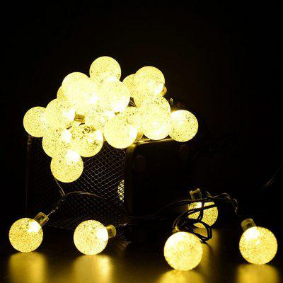 6,5 m 30 LED Solar Ball Ball Light String