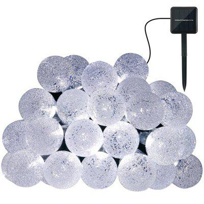 4.8m 20 LED Solar Bubble Ball Light String