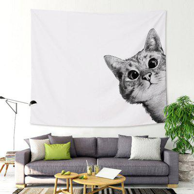 Cat Puppy Animal Tapestry Custom Wholesale Factory Direct Painting Wall Hanging Cloth Towel